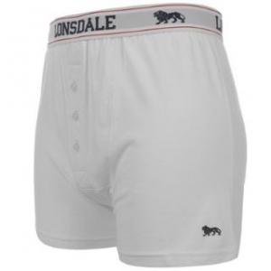 Lonsdale Boxer kalsonger 2-pack vit
