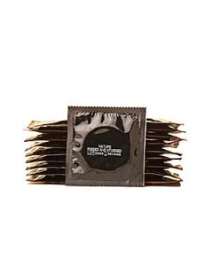 Knottrig och räfflad kondom Amor 3-pack