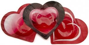 Pasante Hjärt Kondomer