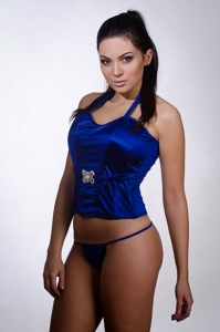 Bustier Blue Dream
