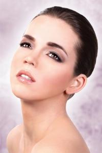Svarta deluxe-ögonfransar Beauty inkl. lim
