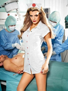 Vit sjuksköterskerock