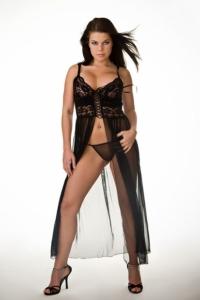 Sexig klänning Jannie-XL