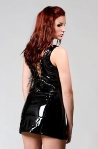 Sexig PVC klänning