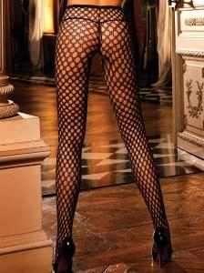 Svarta strumpbyxor i nylon